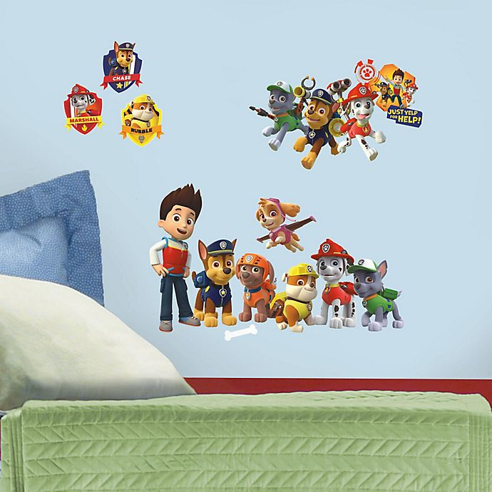 Alternate image 1 for RoomMates Nickelodeon™ PAW Patrol Wall Decals