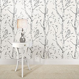 WallPops!® NuWallpaper™ Woods Peel & Stick Wallpaper in Grey