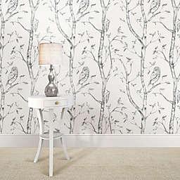 WallPops!® NuWallpaper™ Woods Peel & Stick Wallpaper in Grey