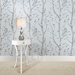 WallPops!® NuWallpaper™ Woods Peel & Stick Wallpaper in Blue