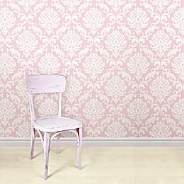 WallPops!® NuWallpaper™ Ariel Peel & Stick Wallpaper in Pink