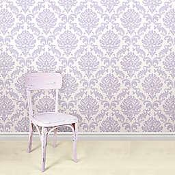 WallPops!® NuWallpaper™ Ariel Peel & Stick Wallpaper in Purple