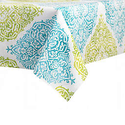 J. Queen New York™ Indoor/Outdoor Roma Tablecloth in Aqua