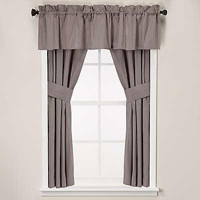 Wamsutta® Classic Stripe Bath Window Curtain Tier Pair