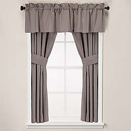 Wamsutta® Classic Stripe Bath Window Curtain Panel and Valance
