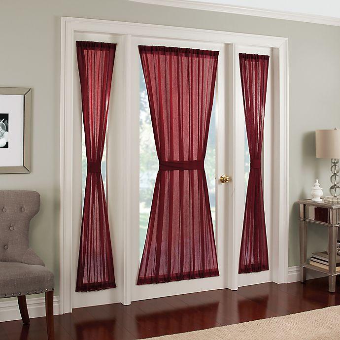 Alternate image 1 for Crushed Voile Rod Pocket Side Light Window Curtain Panel