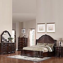 Pulaski Edington 5-Piece Queen Bedroom Set in European Cherry