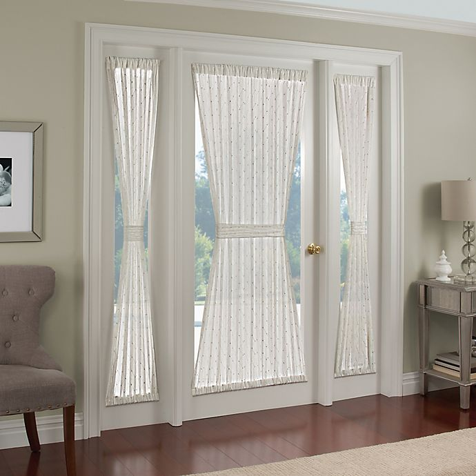 Alternate image 1 for Crystal Brook 40-Inch Side Light Door Panel in White