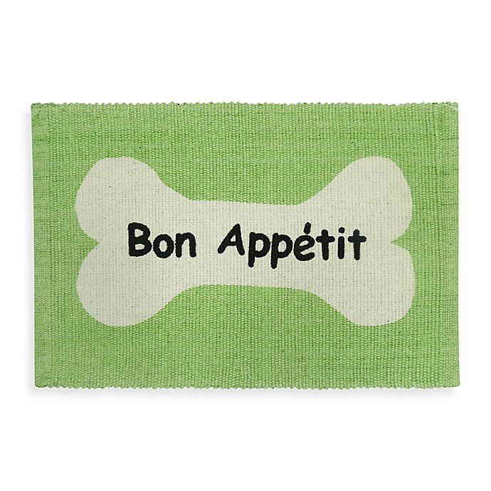 Alternate image 1 for Park B. Smith Bone Appetit Pet Mat