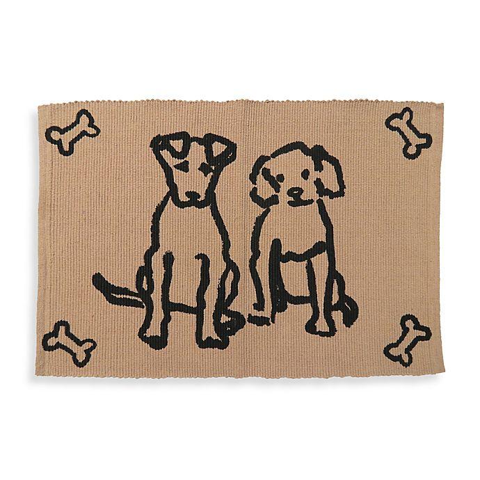 Alternate image 1 for Park B. Smith Dog Friends Pet Mat