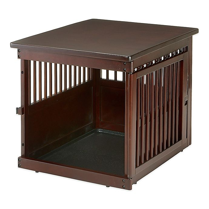 Alternate image 1 for Richell Medium Wooden End Table Crate