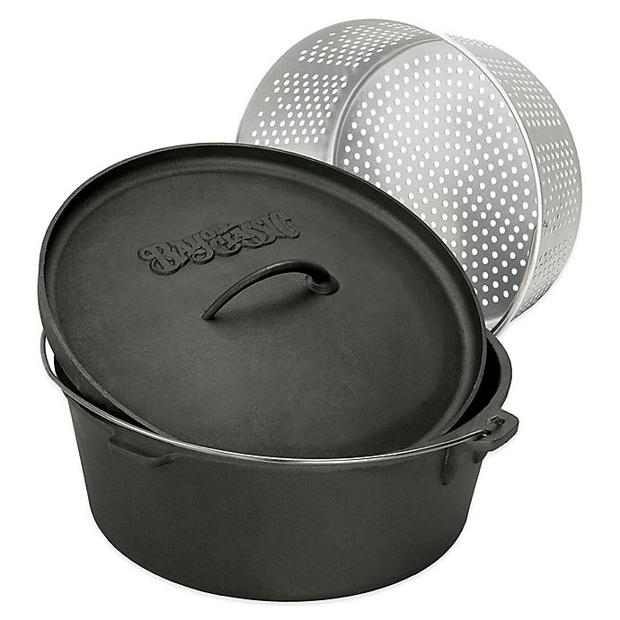 Alternate image 1 for Bayou Classic® Cast Iron Dutch Oven with Lid