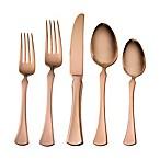 Skandia Refined 20-Piece Flatware Set in Copper
