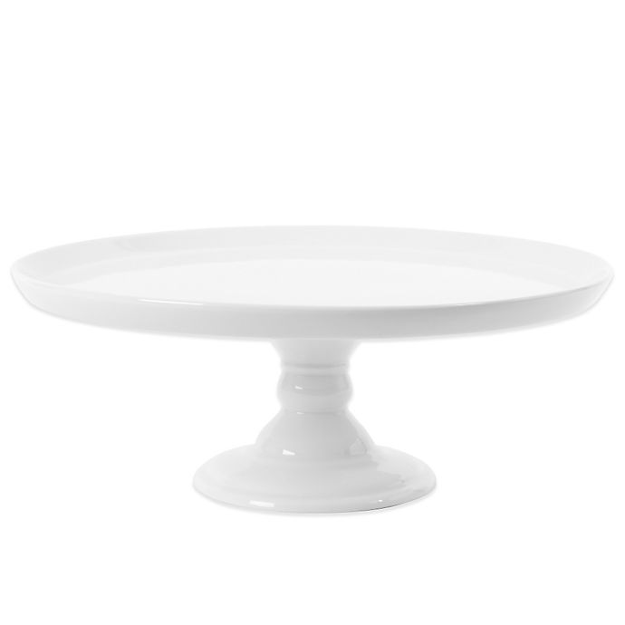 Alternate image 1 for Everyday White®  by Fitz and Floyd® Large Footed Cake Stand