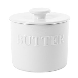 Everyday White® by Fitz and Floyd® Bistro Butter Keeper