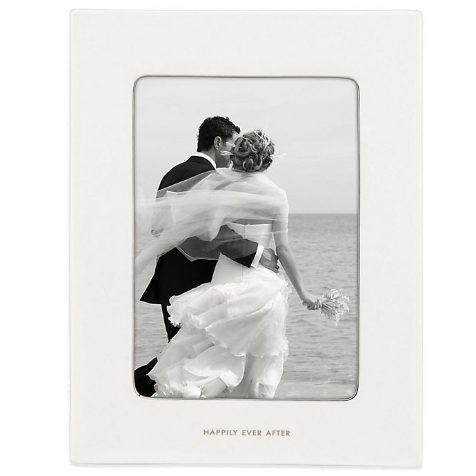 Alternate image 1 for kate spade new york Take the Cake™ 5-Inch x 7-Inch Porcelain Picture Frame