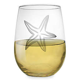 Rolf Glass Starfish Stemless Wine Glass