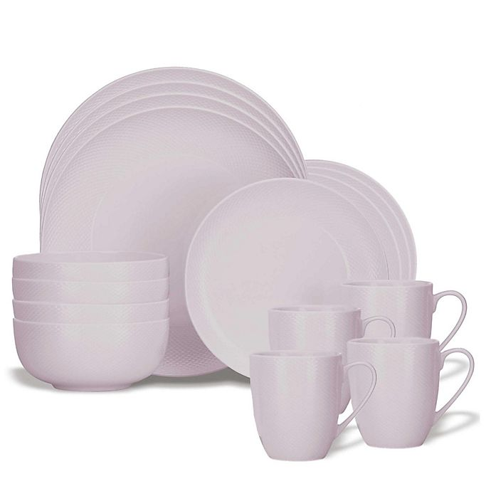 Alternate image 1 for Lenox® Largo 16-Piece Dinnerware Set in Wisteria
