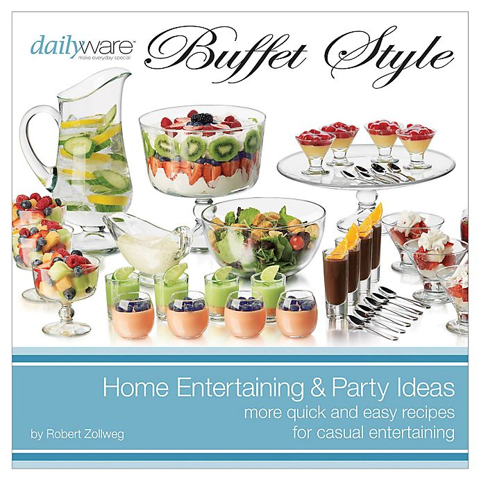 Alternate image 1 for Dailyware™ Buffet Style Book