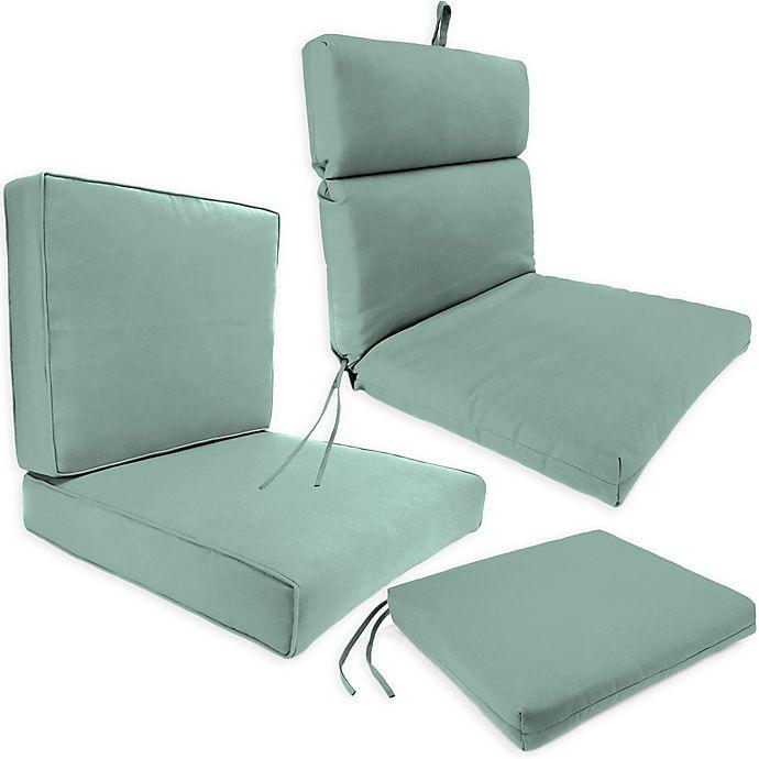 Outdoor Seat Cushion Collection in Sunbrella® Canvas Spa ...