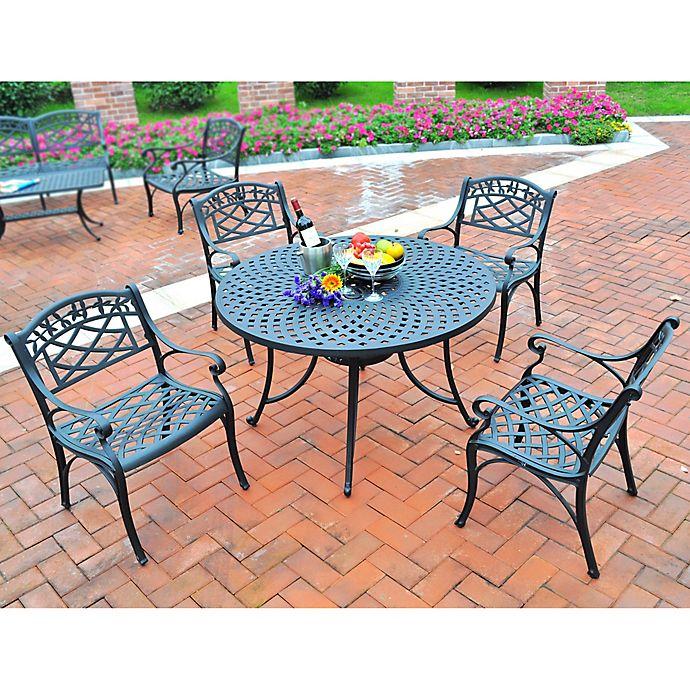 Alternate image 1 for Crosley 5-Piece Sedona 42-Inch Round Outdoor Dining Set