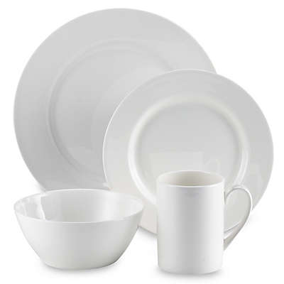 Tabletops Unlimited® Cascade Bone China 16-Piece Dinnerware Set