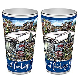 pubsOf. Dallas Cowboys Pint Glasses (Set of 2)