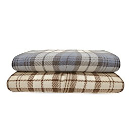 True North by Sleep Philosophy Plaid Microfleece Sheet Set