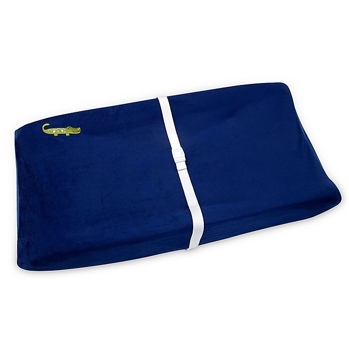 Alternate image 1 for NoJo® Alligator Blues Changing Pad Cover