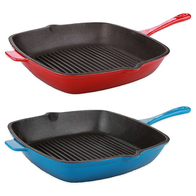 Alternate image 1 for BergHOFF® Neo 11-Inch Cast Iron Grill Pan