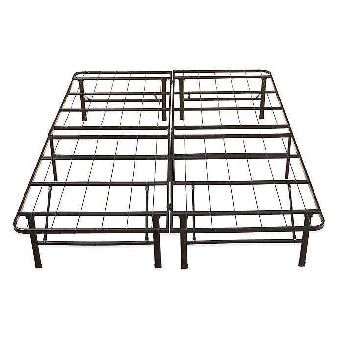 Alternate image 1 for E-Rest Full Metal Platform Bed Frame