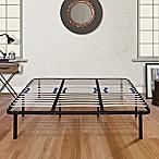 E-Rest Lumbar Adjustable California King Wood & Metal Platform Bed Frame