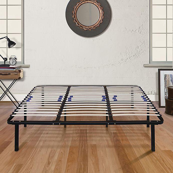 E Rest Lumbar Adjule Wood Metal Platform Bed Frame