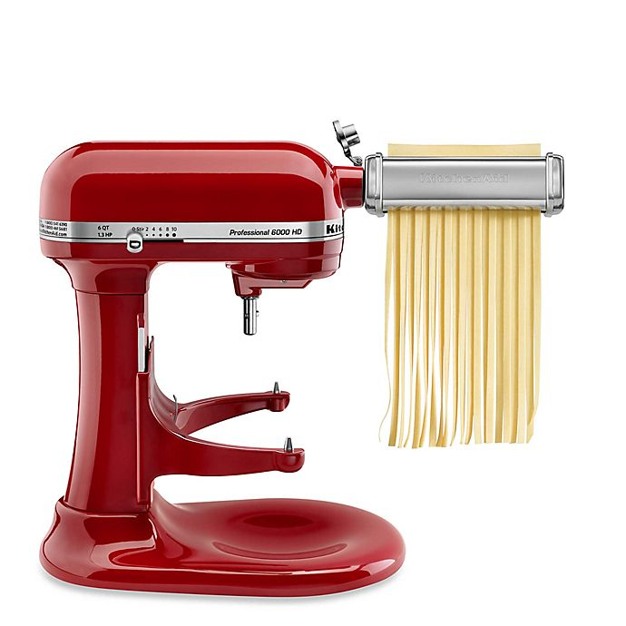 Alternate image 1 for KitchenAid® 3-Piece Pasta Roller Attachment Set