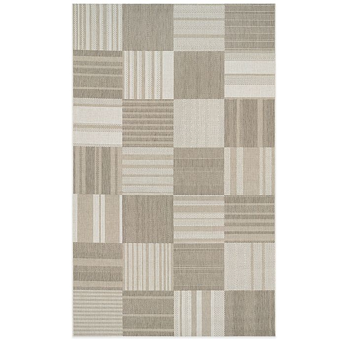 Alternate image 1 for Couristan® Afuera Patchwork Indoor/Outdoor Area Rug