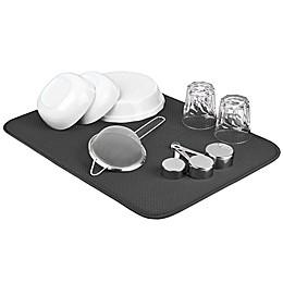 The Original™ XL Dual Dish Drying Mat in Grey