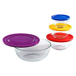 Pyrex® 8-Piece Sculpted Mixing Bowl Set