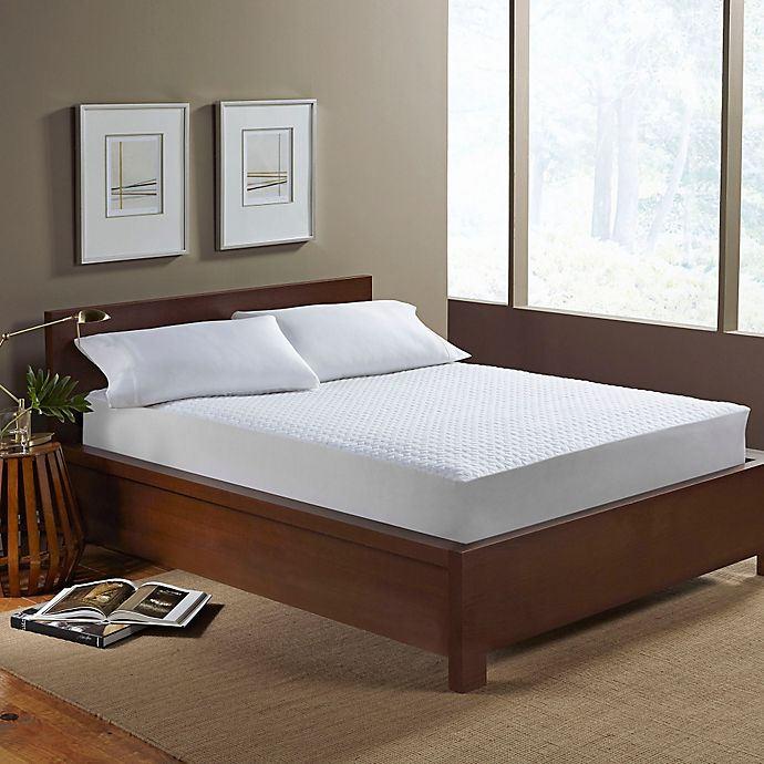 Alternate image 1 for Perfect Fit® Ultimate Comfort Knit Twin XL Mattress Protector