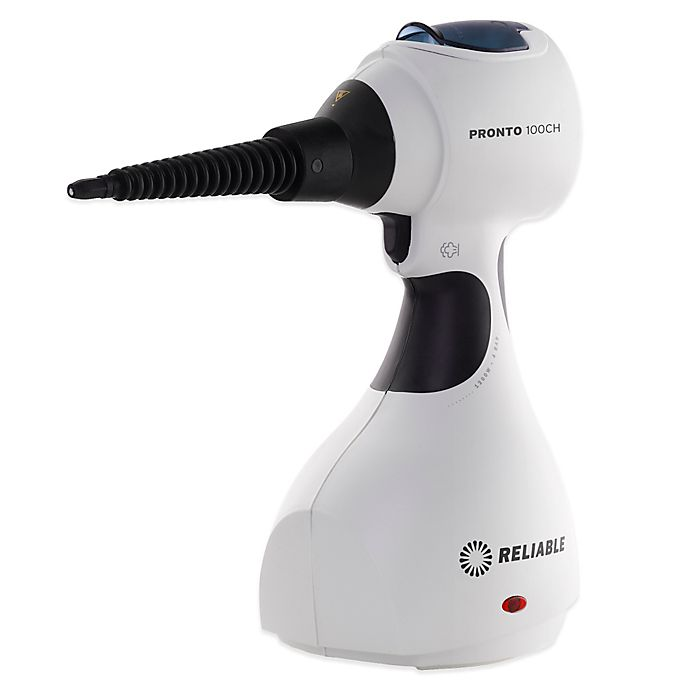 Alternate image 1 for Reliable Pronto 100CH Hand-Held 4-Bar Pressure Steam Cleaner & Garment Steamer