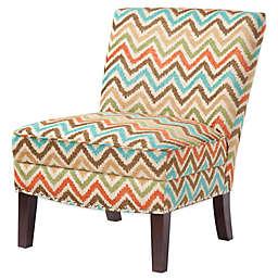 Madison Park Curved Back Slipper Chair