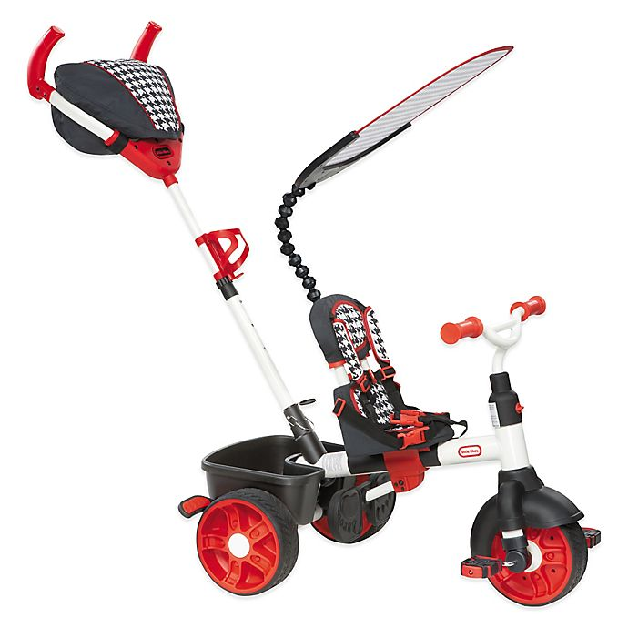Alternate image 1 for Little Tikes® 4-in-1 Sports Edition Trike in Red/White