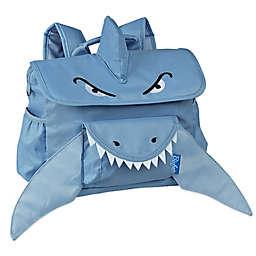 Bixbee Animal Pack Shark Backpack in Blue