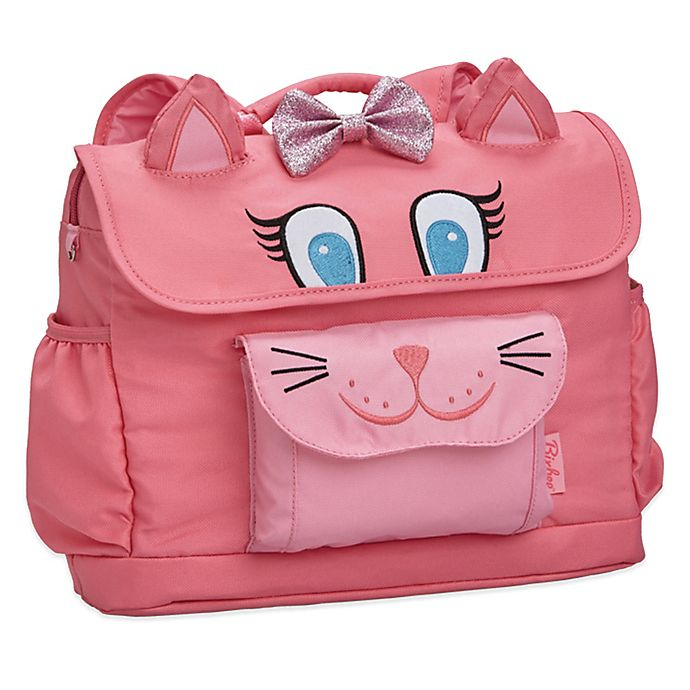 Alternate image 1 for Bixbee Animal Pack Kitty Kids Backpack in Pink