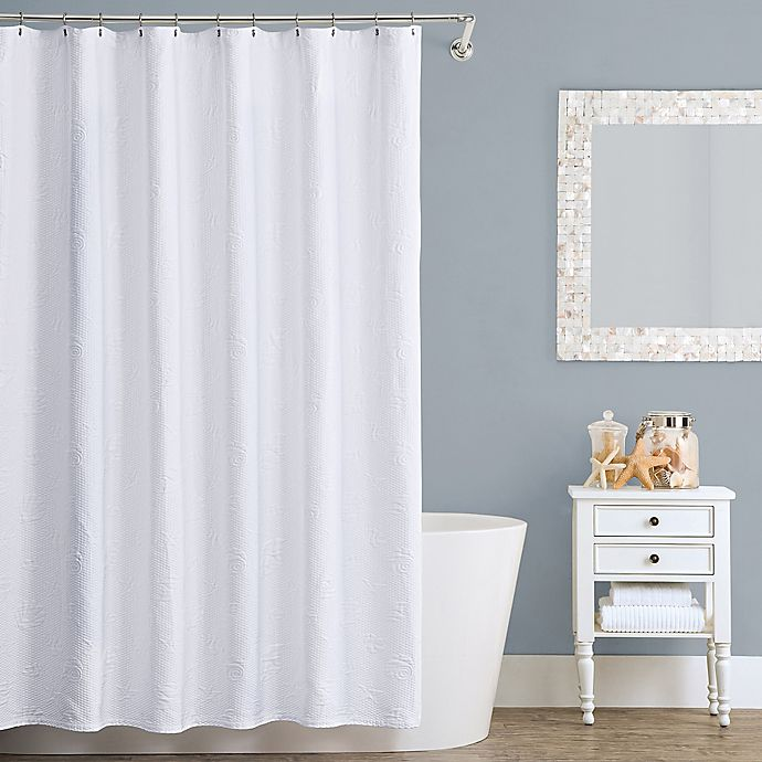 Alternate image 1 for Lamont Home™ Seaspray Cotton Shower Curtain