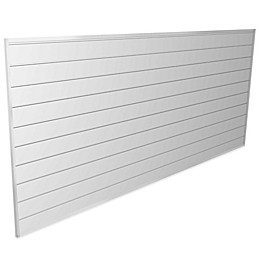 Proslat 8-Foot x 4-Foot Wall Panel Kit in White