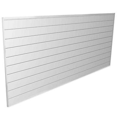 Proslat 8-Foot x 4-Foot Wall Panel Kit in White