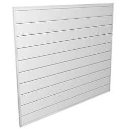 Proslat 4-Foot x 4-Foot Wall Panel Kit in White