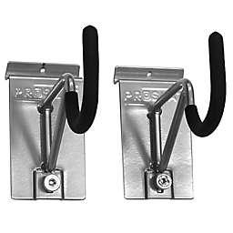 Proslat 2-Pack Super Duty/Bike Locking Hook in Silver