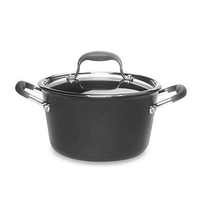 Anolon® Advanced 4-1/2-Quart Tapered Sauce Pot