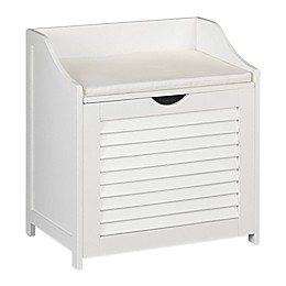 Household Essentials® Single Load Cabinet Hamper Seat